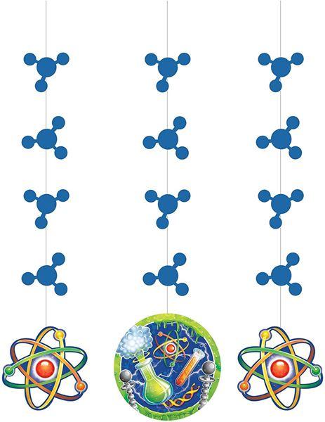 Imagens de Decorados colgantes Laboratorio Ciencia (3)