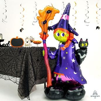 Picture of Globo Bruja Halloween Airloonz 139cm