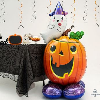 Picture of Globo Calabaza Halloween Airloonz 142cm