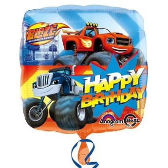 Picture of Globo Blaze y los Monster Machines cumpleaños