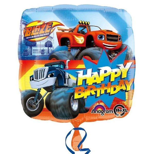 Imagens de Globo Blaze y los Monster Machines cumpleaños