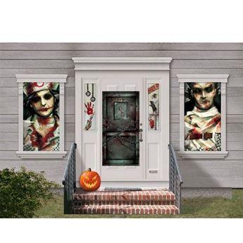 Imagens de Decoración puerta y fachada casa Halloween