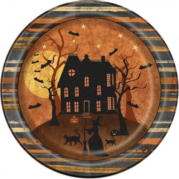 Imagen de Platos Halloween Casa Encantada (8)