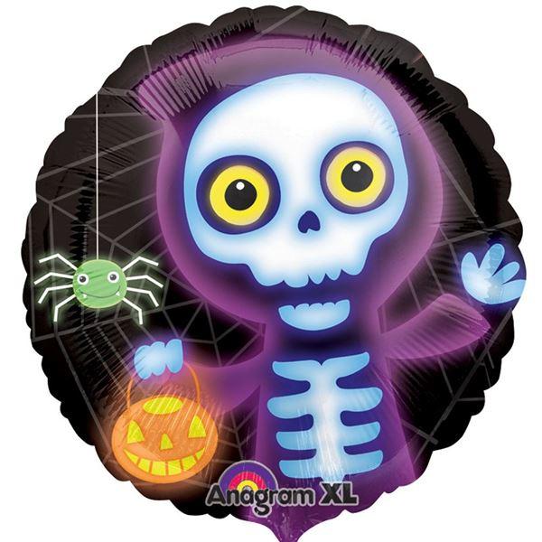Picture of Globo Halloween Esqueleto divertido