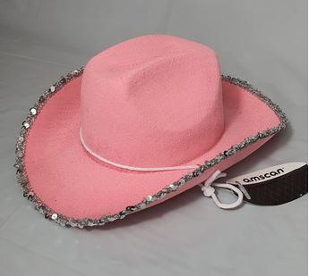 Picture of Sombrero vaquero rosa