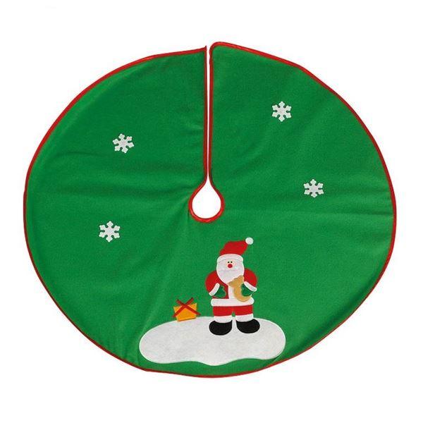 Imagen de Cubre Pie de Árbol Papá Noel 90cm