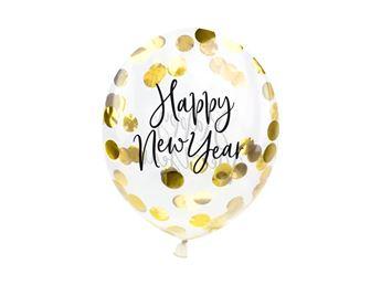 Imagen de Globos confeti feliz año nuevo (3)