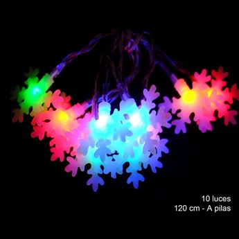 Imagen de 10 Luces led flash copos Multicolor
