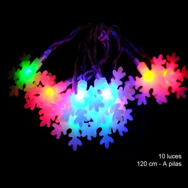 Imagen de 10 Luces led flash copos Multicolor