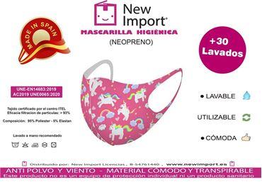 Picture for category Mascarillas higiénicas infantiles reutilizables