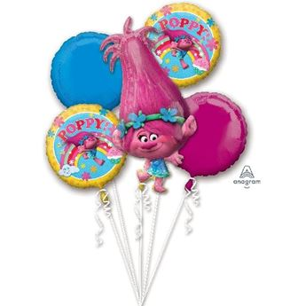 Picture of Bouquet globos Trolls (5)