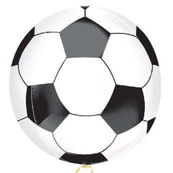 Imagen de Globo fútbol esférico