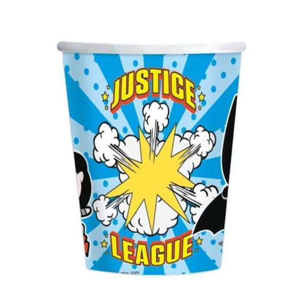 Imagens de Vasos Liga de la Justicia cómic (8)