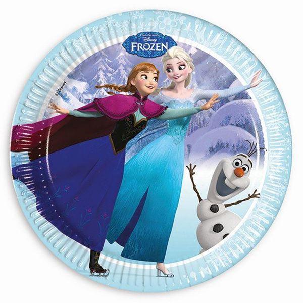 Picture of Platos Frozen edición exclusiva grandes (8)