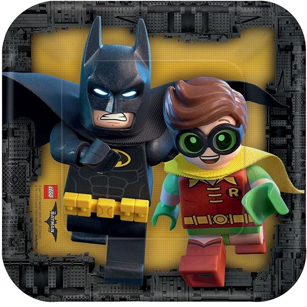 Imagens de Platos LEGO Batman pequeños (8)