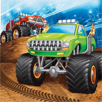 Picture of Servilletas Monster Truck (16)