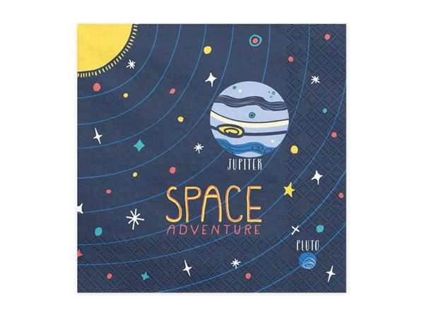 Imagen de Servilletas cohete espacio (20)