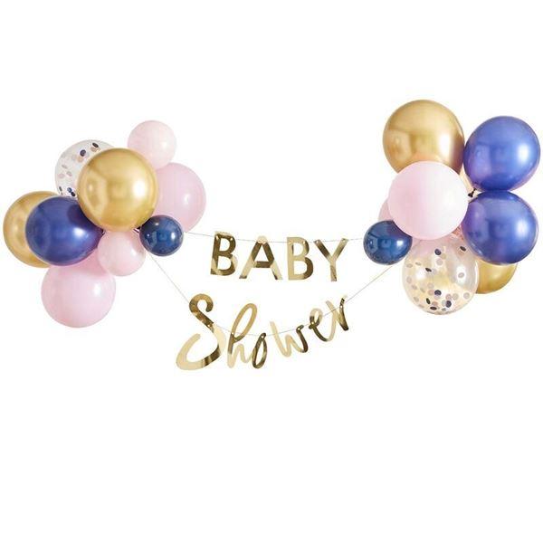 Imagens de Kit Guirnalda Baby Shower con globos