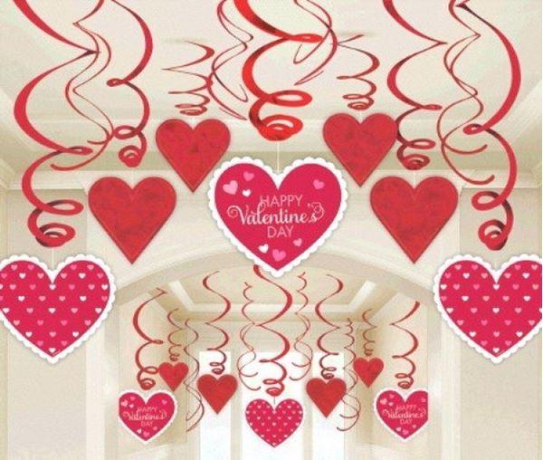Picture of Decorados espirales Happy Valentine (30)