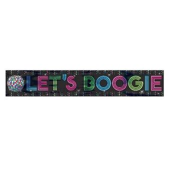 Picture of Banner Disco Boogie 7,6m