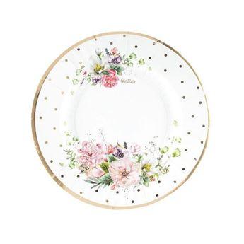 Imagen de Platos Jardín de Flores pequeños (8)