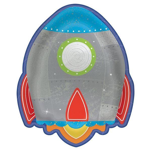 Imagen de Platos cohete infantil (8)