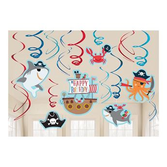 Picture of Decorados espirales Pirata infantil (12)