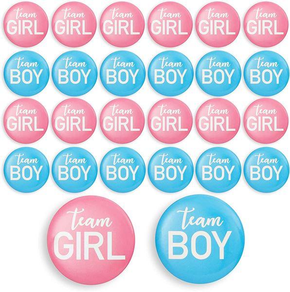 Imagen de Chapas de Revelación de género (10)