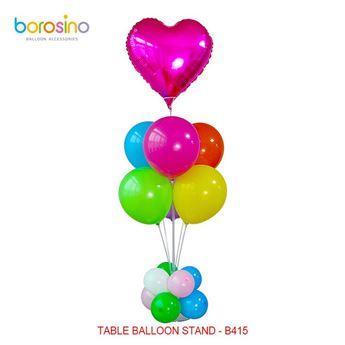 Imagen de Centro de mesa para globos blanco