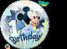 Imagens de Globo Mickey Mouse bebé Primer cumpleaños Bubble burbuja 56 cm