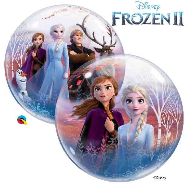Imagen de Globo Frozen II Bubble burbuja 56 cm