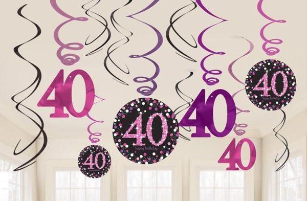 Imagen de Decorados espirales 40 años glamour (12)