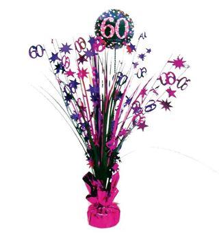 Imagen de Centro de mesa 60 años glamour