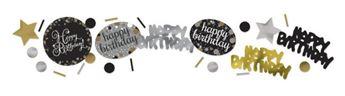 Imagen de Confeti Feliz cumpleaños elegante (34gr)