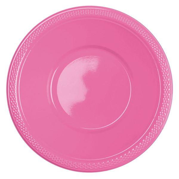 Picture of Boles rosa plástico (10)