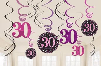 Imagen de Decorados espirales 30 años glamour (12)