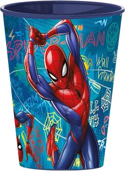 Picture of Vaso Spiderman plástico duro