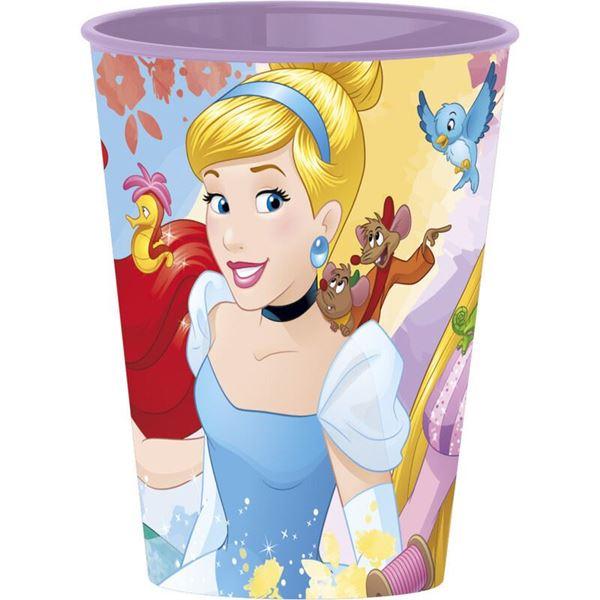 Imagen de Vaso Princesas Disney plástico duro