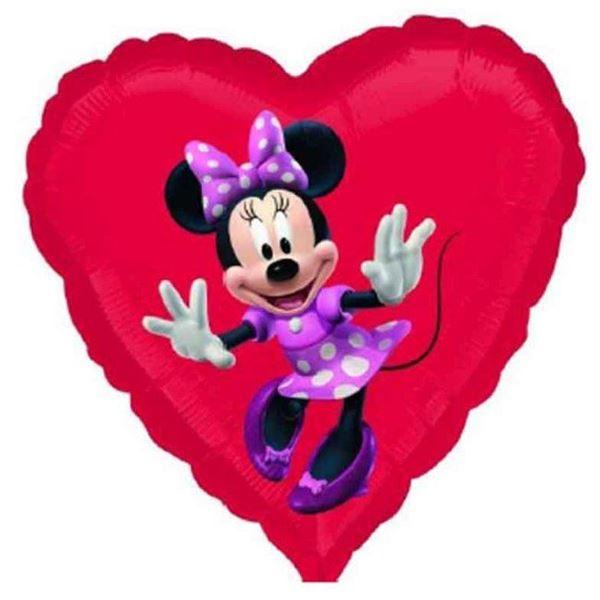 Imagen de Globo Minnie Mouse corazón