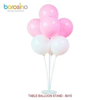 Imagen de Centro de mesa para globos transparente