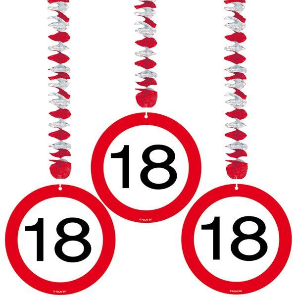 Imagens de Decorados espirales 18 años señal de tráfico (3)