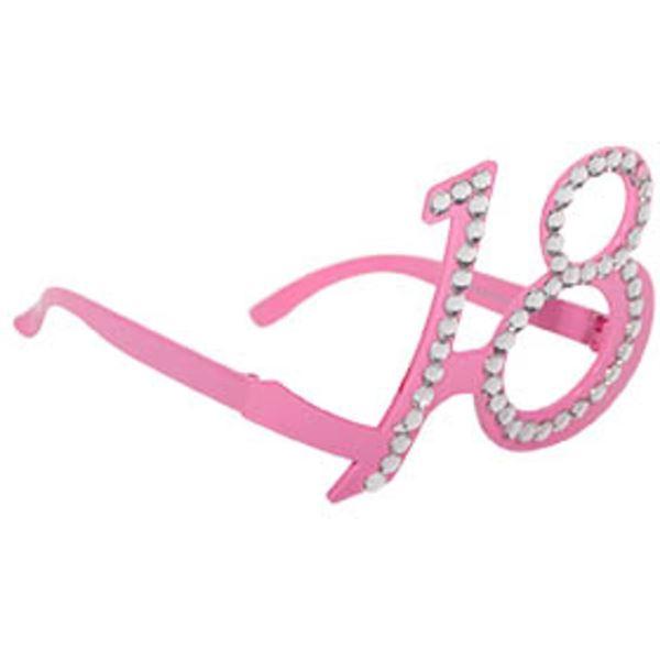 Picture of Gafas 18 años rosa diamantes