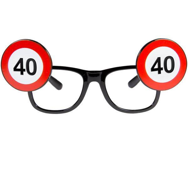 Picture of Gafas de señal de tráfico 40 años
