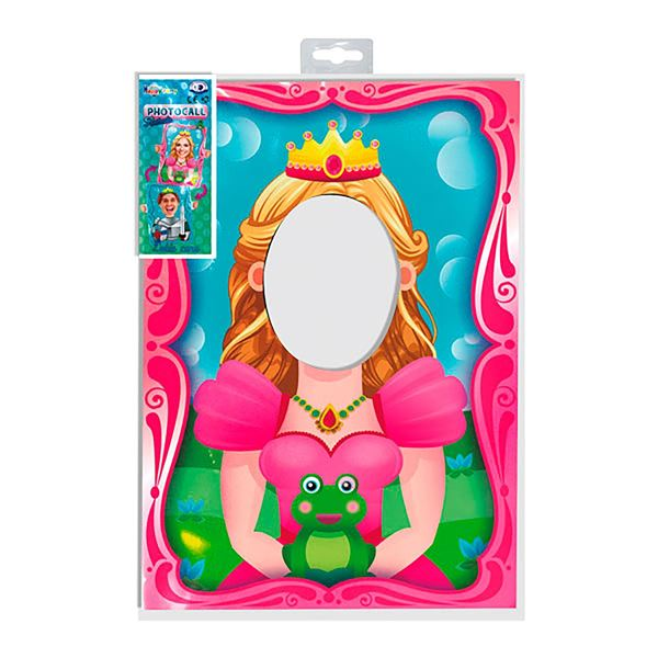 Imagens de Marco photocall princesa príncipe reversible