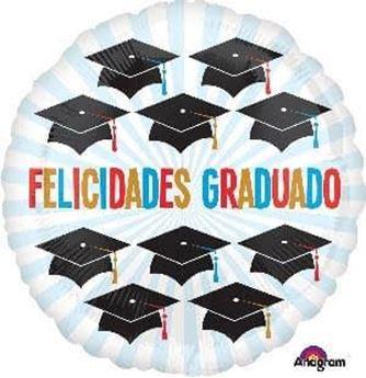 Imagens de Globo Felicidades Graduado