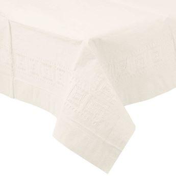 Picture of Mantel blanco de papel