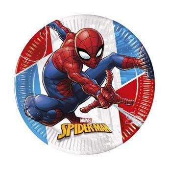 Imagen de Platos Spiderman pequeños (8)