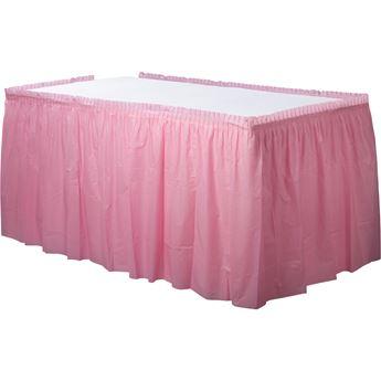 Picture of Falda de mesa rosa pastel
