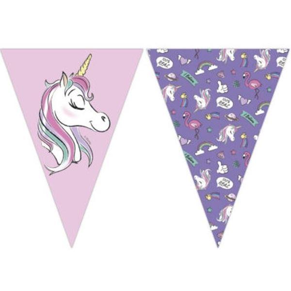 Imagens de Banderín Minnie y Unicornio (2,3m)