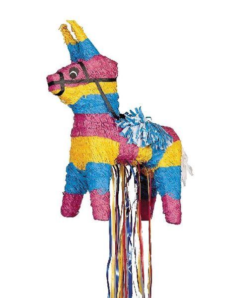 Imagen de Piñata Burro Mexicano tirar de cintas